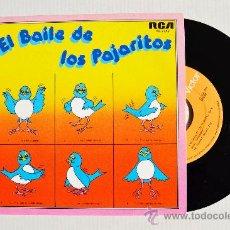 Discos de vinilo: ORQUESTA TABACO - EL BAILE DE LOS PAJARITOS ¡¡NUEVO!! (RCA SINGLE 1981) ESPAÑA. Lote 34958383