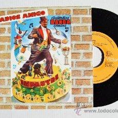 Discos de vinilo: EL EMPASTRE AUTENTICA BANDA COMICA - ADIOS AMIGO ¡¡NUEVO!! (RCA SINGLE 1978) ESPAÑA. Lote 34958947