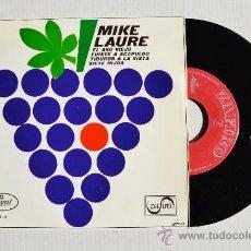 Discos de vinilo: MIKE LAURE - EL AÑO VIEJO/FUISTE A ACAPULCO… ¡¡NUEVO!! (ZAFIRO EP 1967) ESPAÑA. Lote 34962203