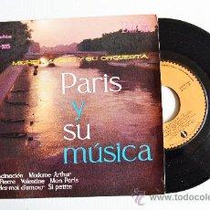 Discos de vinilo: MICHEL MAGNE Y SU ORQUESTA - PARIS Y SU MUSICA ¡¡NUEVO!! (BEL-AIR EP 1961) ESPAÑA. Lote 34963336