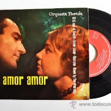 Dischi in vinile: ORQUESTA FLORIDA - TROMPETA SOLISTA ERNESTO MARGALL AMOR AMOR… ¡¡NUEVO!! (ZAFIRO EP 1960) ESPAÑA. Lote 34963515