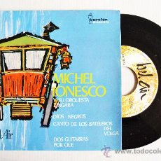 Discos de vinilo: MICHEL IONESCO Y SU ORQUESTA ZINGARA - OJOS NEGROS… ¡¡NUEVO!! (BEL-AIR EP 1964) ESPAÑA. Lote 34963883