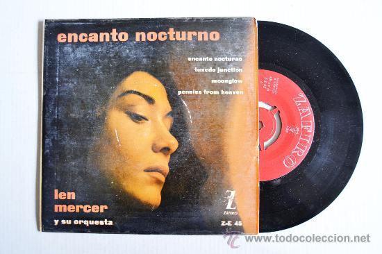 LEN MERCER Y SU ORQUESTA - ENCANTO NOCTURNO ¡¡SIN USAR!! (ZAFIRO EP 1959) ESPAÑA (Música - Discos de Vinilo - EPs - Orquestas)