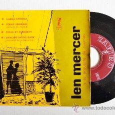 Discos de vinilo: LEN MERCER Y SU ORQUESTA DE CUERDAS ¡¡SIN USAR!! (ZAFIRO EP 1959) ESPAÑA. Lote 34964243