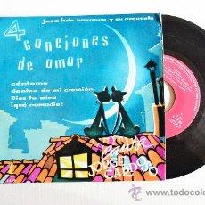 Discos de vinilo: JORGE CARDOSO - 4 CANCIONES DE AMOR ¡¡SIN USAR!! (ZAFIRO EP 1959) ESPAÑA. Lote 34964353