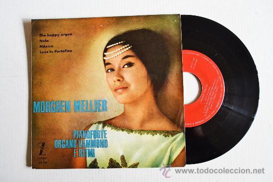 MORGHEN MELLIER - PIANOFORTE ORGANO HAMMOND E RITMI ¡¡NUEVO!! (ZAFIRO EP 1960) ESPAÑA (Música - Discos de Vinilo - EPs - Orquestas)