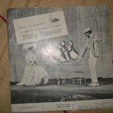 Discos de vinilo: MARY POPPINS / FLEXIDISCO PROMOCIONAL DE MUÑECAS DE FAMOSA . Lote 34964579