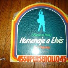 Discos de vinilo: ROCK ODYSSEY- TRIBUTE TO ELVIS / SATURNE EA-1 - MAGIC FLY. Lote 34968940