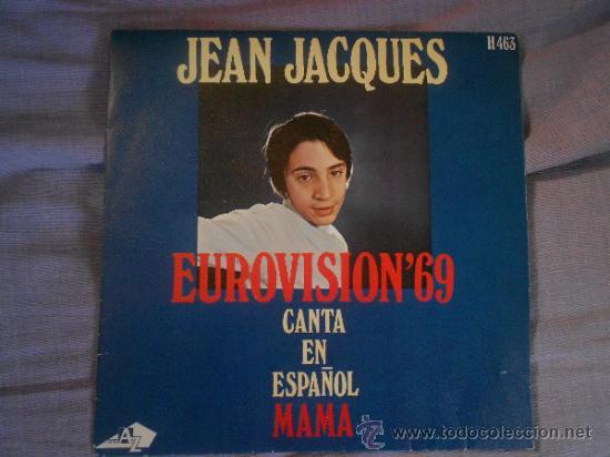 JEAN JACQUES CANTA MAMA AÑO 69 (Música - Discos - Singles Vinilo - Festival de Eurovisión)
