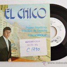 Discos de vinilo: EL CHICO - PASEO MARITIMO: PRINCIPE DE ESPAÑA FUENGIROLA ¡¡NUEVO!! (MUSIMAR SINGLE 1974) ESPAÑA. Lote 34971595
