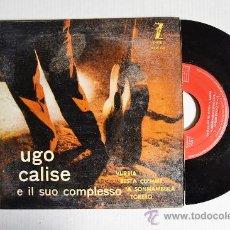 Discos de vinilo: UGO CALISE - E IL SUO COMPLESSO VURRIA… ¡¡SIN USAR!! (ZAFIRO EP 1959) ESPAÑA. Lote 34972120
