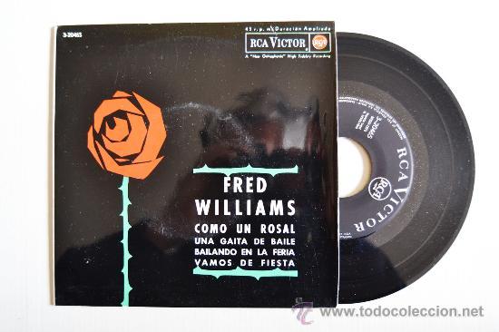 FRED WILLIAMS SU GAITA Y SU CONJUNTO ¡¡NUEVO!! (RCA EP 1962) ESPAÑA (Música - Discos - Singles Vinilo - Orquestas)