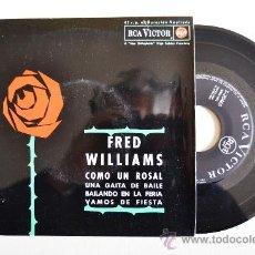 Discos de vinilo: FRED WILLIAMS SU GAITA Y SU CONJUNTO ¡¡NUEVO!! (RCA EP 1962) ESPAÑA. Lote 34976444