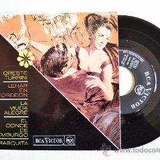 Discos de vinilo: ORESTE TURRINI - LEHAR EN ACORDEON ¡¡NUEVO!! (RCA EP 1966) ESPAÑA. Lote 34980046