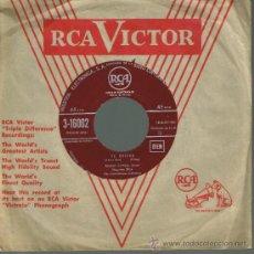 Discos de vinilo: MARIO LANZA - PORQUE / TE QUIERO - SINGLE 195? O 196?. Lote 34980230