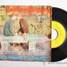 Discos de vinilo: JESUS FERNANDEZ Y SU CONJUNTO - BOLEROS FAMOSOS ¡¡NUEVO!! (IBEROFON EP 1960 ) ESPAÑA. Lote 34981307