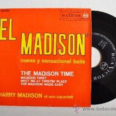 Discos de vinilo: HARRY MADISON ET SON SQUARTETT - EL MADISON ¡¡NUEVO!! (RCA EP 1962) ESPAÑA. Lote 34981676