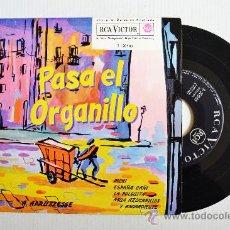 Discos de vinilo: ANTONIO APRUZZESE (ORGANILLO) - PASA EL ORGANILLO ¡¡NUEVO!! (RCA EP 1962) ESPAÑA. Lote 34981757