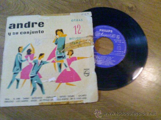 ANDRE Y SU CONJUNTO.. OTRAS 12 MELODIAS PARA TÍ..JULIA.TE DIRÉ. SARAH.SUCU-SUCU.CHIPI-CHIPI.TUTURU T (Música - Discos de Vinilo - EPs - Flamenco, Canción española y Cuplé)