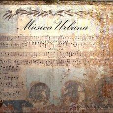 Discos de vinilo: LP MUSICA URBANA (JOAN ALBERT AMARGOS, LLUIS CABANACH, CARLES BENAVENT, SALVADOR FONT ) . Lote 34985654