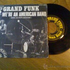 Discos de vinilo: GRAND AND FUNK.WE´R AN AMERICAN BAND.. Lote 34989059