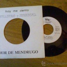Discos de vinilo: HOY ME SIENTO ITALIANO Y MUSICAL. AMOR DE MENDRUGO.. Lote 34989204