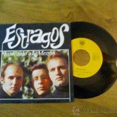 Discos de vinilo: ESTRAGOS.INTENTALO AL MENOS.. Lote 35000399