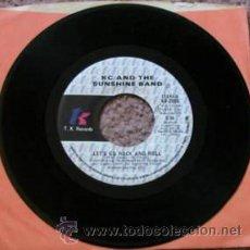 Discos de vinilo: KC & THE SUNSHINE BAND – LET'S GO ROCK AND ROLL / I'VE GOT THE FEELING. Lote 35005024