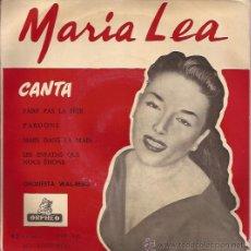 Discos de vinilo: EP-MARIA LEA CANTA-ORPHEO 143-EDIC. ESPAÑOLA SIN FECHA. Lote 35012964