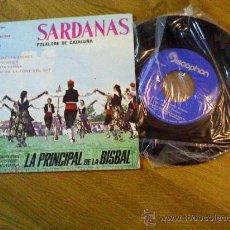 Discos de vinilo: SARDANAS.MARIA DE LES TRENES.BELL PENEDES.LA SANTA ESPINA.BAIXANT DE LA FONT DEL GAT.. Lote 35013742