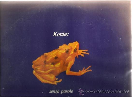 LP KONIEC : SENZA PAROLE (XAVIER MARISTANY, JOSEP PALOMAS, ORIOL PERUCHO, JOAN SAURA ) (Música - Discos - LP Vinilo - Electrónica, Avantgarde y Experimental)