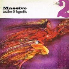 Discos de vinilo: ASWAD / CARROLL THOMPSON / TIPPA IRIE, ETC - MASSIVE II. AN ALBUM OF REGGAE HITS - LP 1986. Lote 35028198