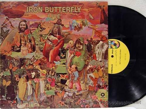 IRON BUTTERFLY / IRON BUTTERFLY LIVE 1967 ATCO - IN-A-GADDA-DA-VIDA ..ORIG EDIT USA, !! EXCELENTE !! (Música - Discos - LP Vinilo - Pop - Rock Extranjero de los 50 y 60)