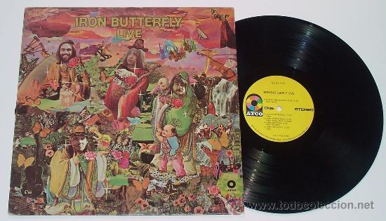 Discos de vinilo: IRON BUTTERFLY / iron butterfly live 1967 ATCO - In-A-Gadda-Da-Vida ..ORIG EDIT USA, !! EXCELENTE !! - Foto 3 - 48304733