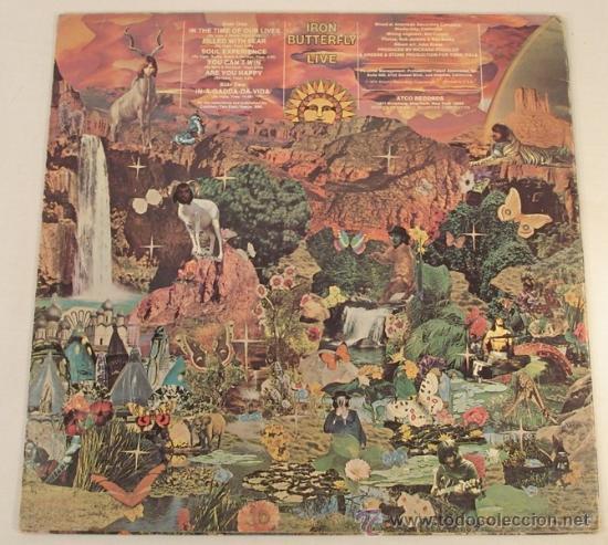 Discos de vinilo: IRON BUTTERFLY / iron butterfly live 1967 ATCO - In-A-Gadda-Da-Vida ..ORIG EDIT USA, !! EXCELENTE !! - Foto 4 - 48304733