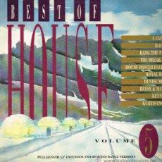 Discos de vinilo: BEST OF HOUSE. VOL. 5 - LP 1988. Lote 35045825