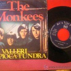 Discos de vinilo: SINGLE THE MONKEES VALLERI TAPIOCA TUNDRA RCA VICTOR 1968 MBE. Lote 35044137