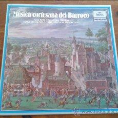 Discos de vinilo: MÚSICA CORTESANA DEL BARROCO.CONCENTUS MUSICUS,VIENA.NIKOLAUS HARNONCOURT.ARCHIV PRODUKTION.1981.. Lote 35045164