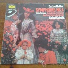 Discos de vinilo: GUSTAV MAHLER-SYMPHONIE NR 4. Lote 35045381