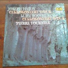 Discos de vinilo: JOSEPH HAYDN CELLOKONZERT D-DUR LUIGI BOCCHERINI,PIERRE FOURNTER. Lote 35045437