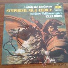 Discos de vinilo: LUDWIG VAN BEETHOVEN - LP SYMPHONIE NR. 3 EROICA - DEUTSCHE GRAMMOPHON ESPAÑA 1979. Lote 35045848