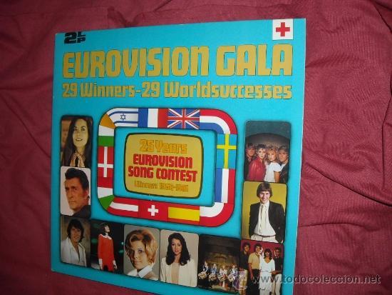 VARIOUS – EUROVISION GALA - 29 WINNERS - 29 WORLDSUCCESSES DOBLE LP 1956 -1981 VER FOTOS ADICIONALE (Música - Discos - LP Vinilo - Festival de Eurovisión)