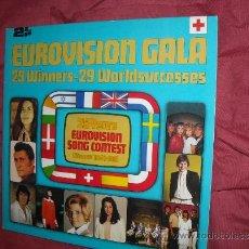 Discos de vinilo: VARIOUS – EUROVISION GALA - 29 WINNERS - 29 WORLDSUCCESSES DOBLE LP 1956 -1981 VER FOTOS ADICIONALE. Lote 35048422