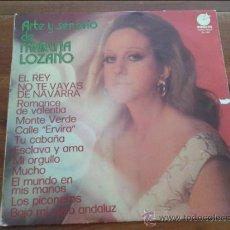 Discos de vinilo: MARUJA LOZANO, ARTE Y SEÑORIO, 1975 . Lote 35064814