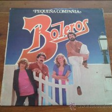 Discos de vinilo: PEQUEÑA COMPAÑÍA - BOLEROS - LP. Lote 35064917