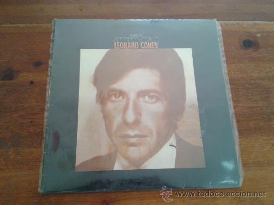 LEONARD COHEN CANCIONES DE LP 1971 (Música - Discos de Vinilo - EPs - Cantautores Extranjeros)