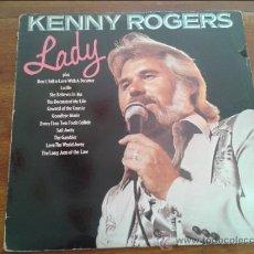 Discos de vinilo: DISCO LP VINILO KENNY ROGERS GREATEST HITS AÑO 1980. Lote 35065311