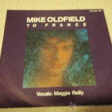 Discos de vinilo: MIKE OLDFIELD VOCALS: MAGGIE REILLY ( TO FRANCE - IN THE POOL ) 1984-GERMANY SINGLE45 VIRGIN. Lote 140432752