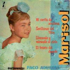 """Discos de vinilo: MARISOL - EP SINGLE VINILO 7"""" - EDITADO ESPAÑA - MI CARITA DE AZUCENA + 3 - AÑO 1960.. Lote 35053740"""