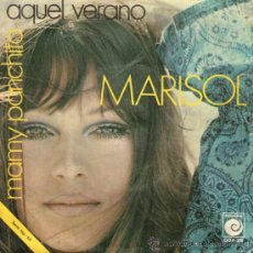 "Discos de vinilo: MARISOL - SINGLE VINILO 7"" - EDITADO ESPAÑA - MAMY PANCHITA + AQUEL VERANO - ZAFIRO 1970. Lote 35053756"